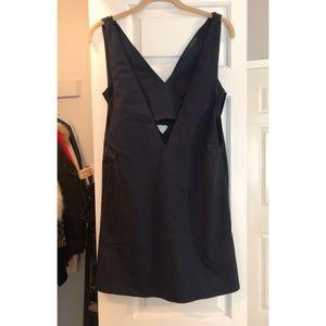 Zara Trafaluc navy dress
